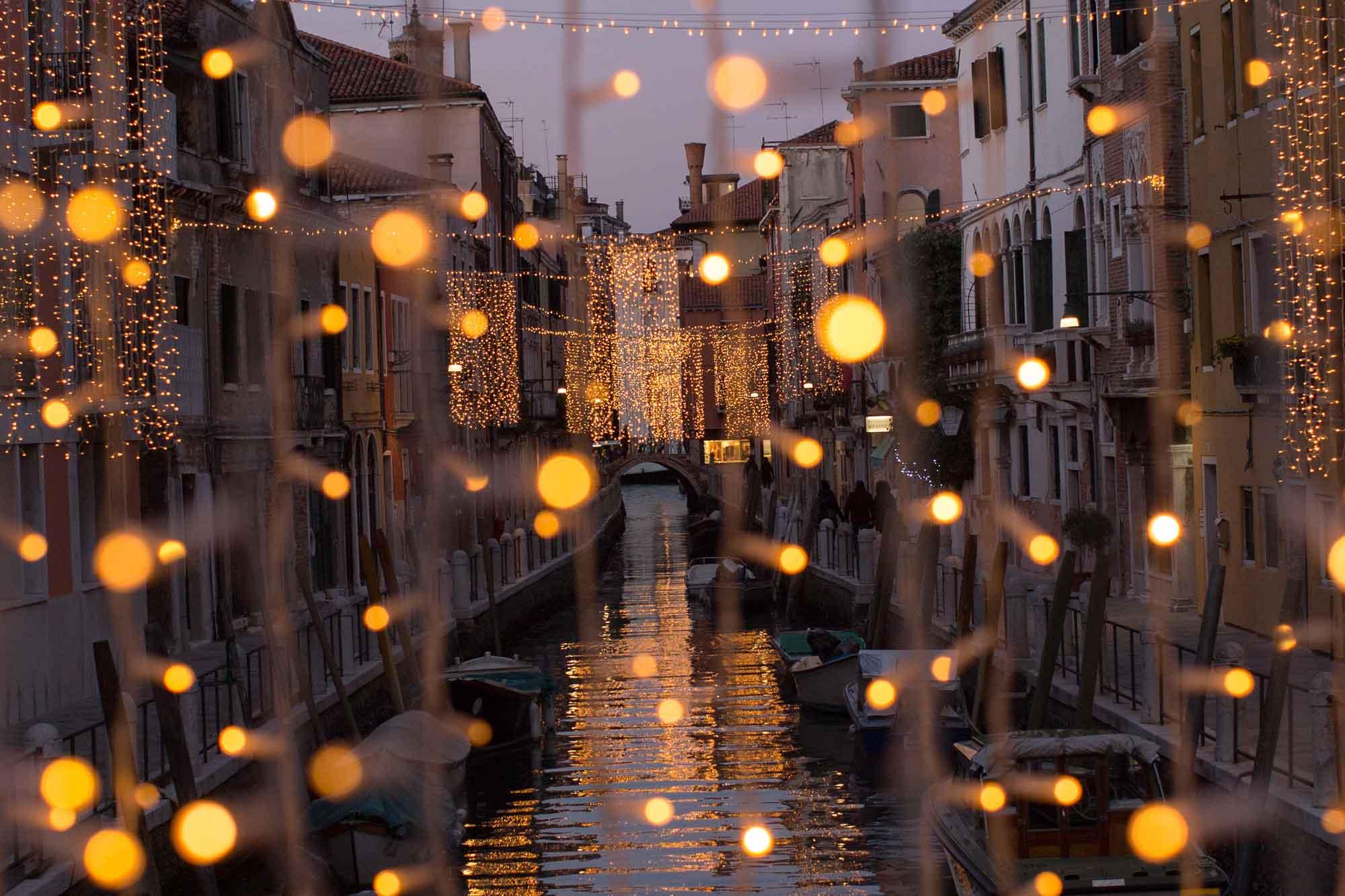 Venezia a Natale luci