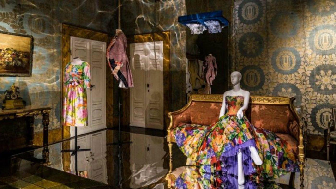 Animalia Fashion, la mostra a Palazzo Pitti. Abito in mostra