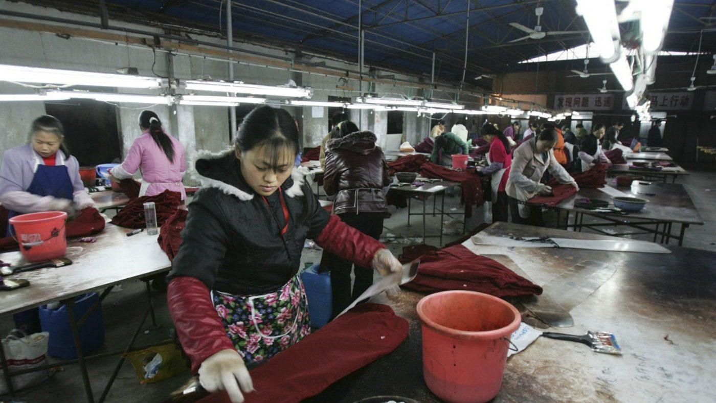Pulp Fashion, il lati oscuri della moda. Lavoratrici cinesi