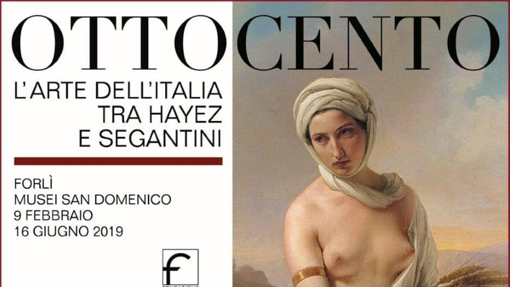 Mame arte OTTOCENTO - L'ARTE DELL'ITALIA DA HAYEZ A SEGANTINI Immagine rappresentativa mostra ottocento quadrotto-2