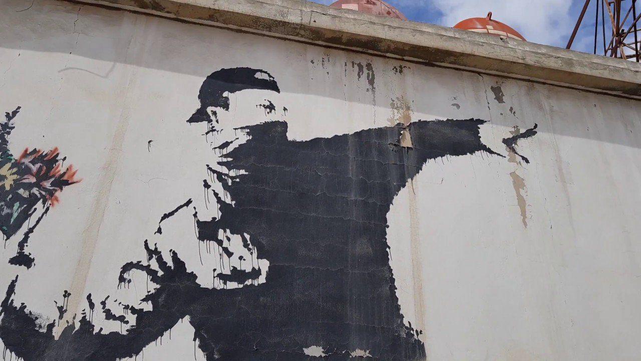 Banksy a Cortona