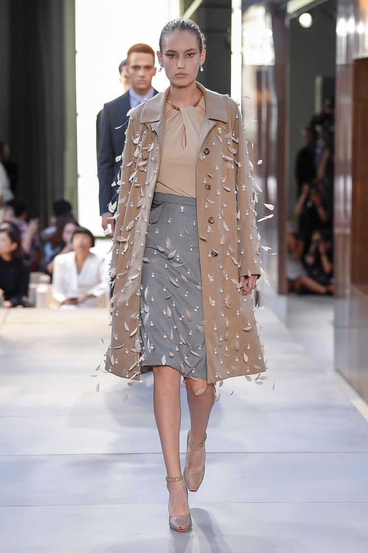 outfit Burberry spring 2019