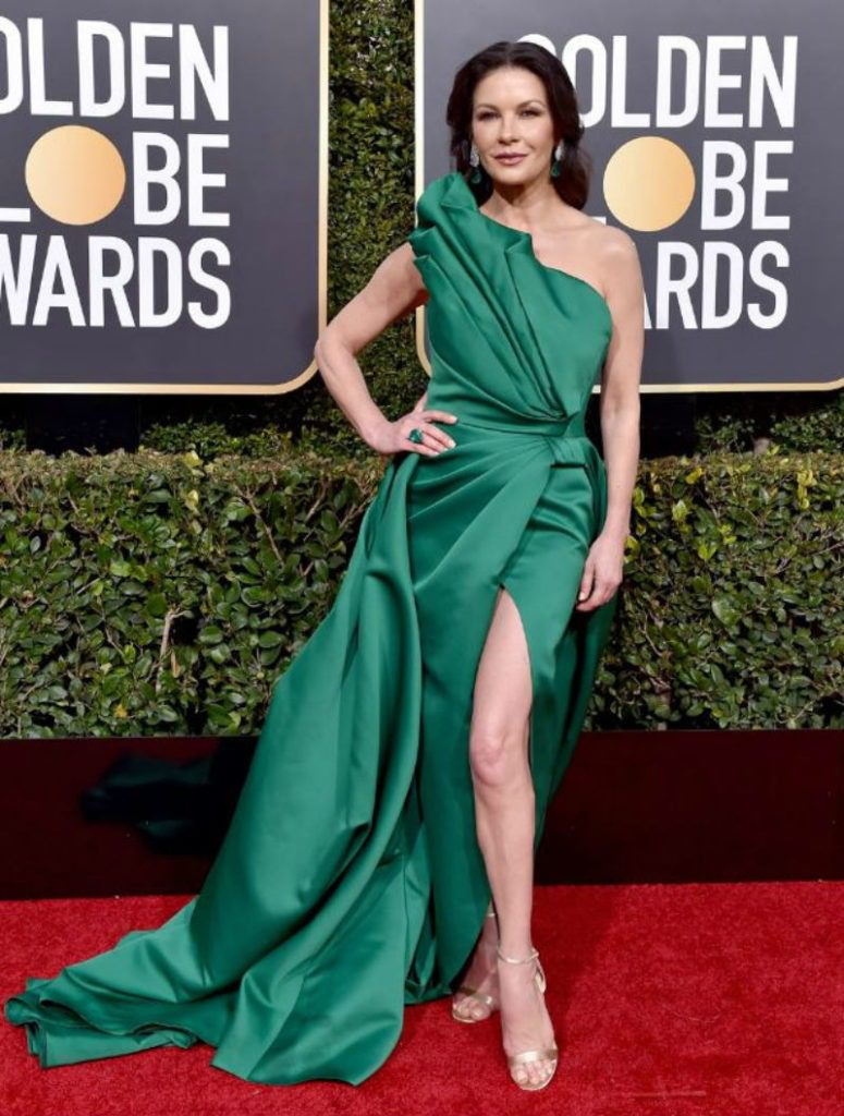 Golden Globe 2019, i look del red carpert. Catherine Zeta Jones