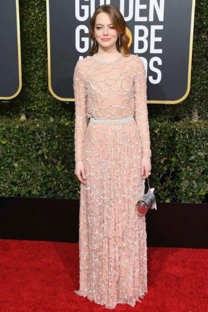 Golden Globe 2019, i look del red carpert. Emma Sto