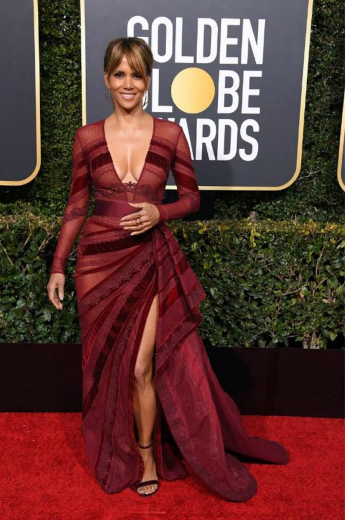 Golden Globe 2019, i look del red carpert. Halle Berry