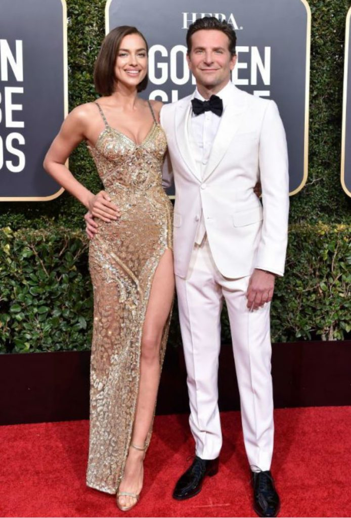 Golden Globe 2019, i look del red carpert. Irina Shaik