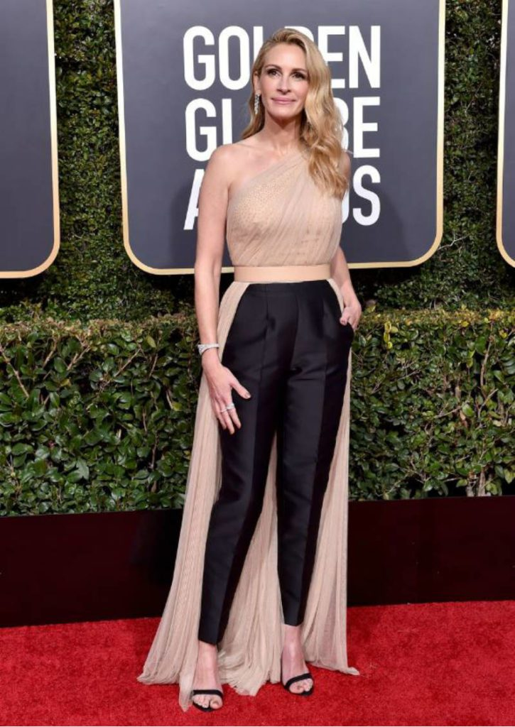 Golden Globe 2019, i look del red carpert. Julia Roberts
