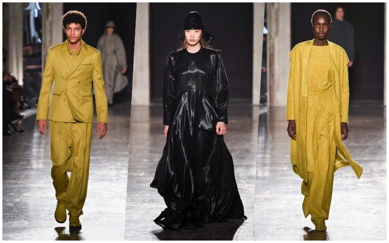 moda: calcaterra la filata alla MFW 2019/20. calcaterra sfilata