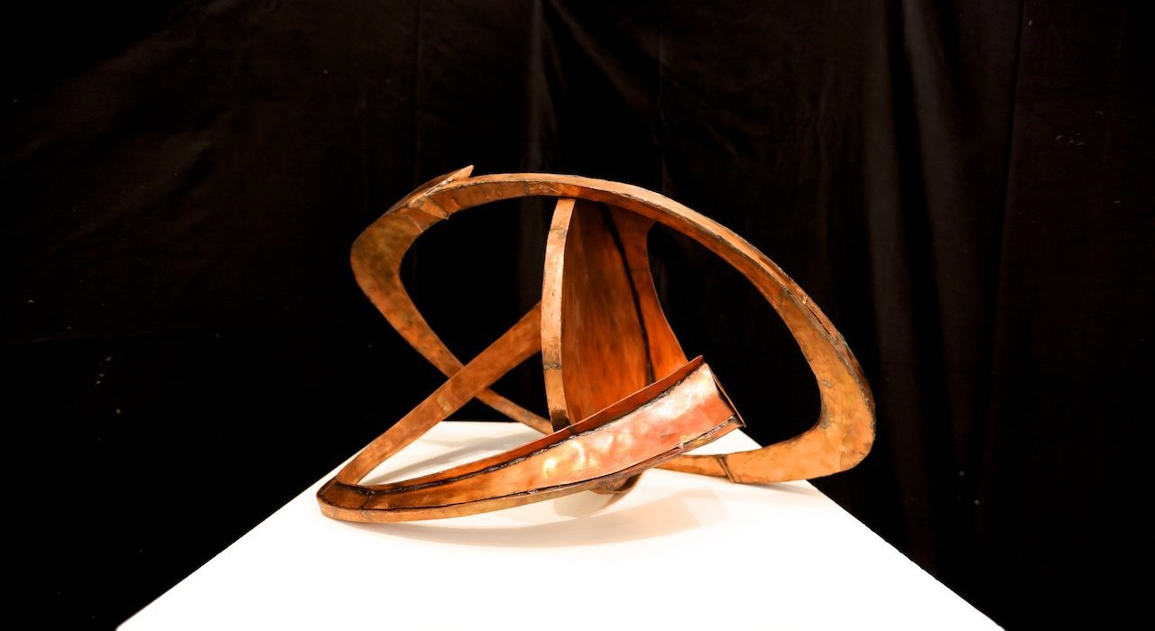 Mame arte HERBERT FERBER. SCULTURA COME METAFORA DI UN'IDEA2.-Bartonville-I-1968-rame_-copper-cm-349x585x375.-1280x700