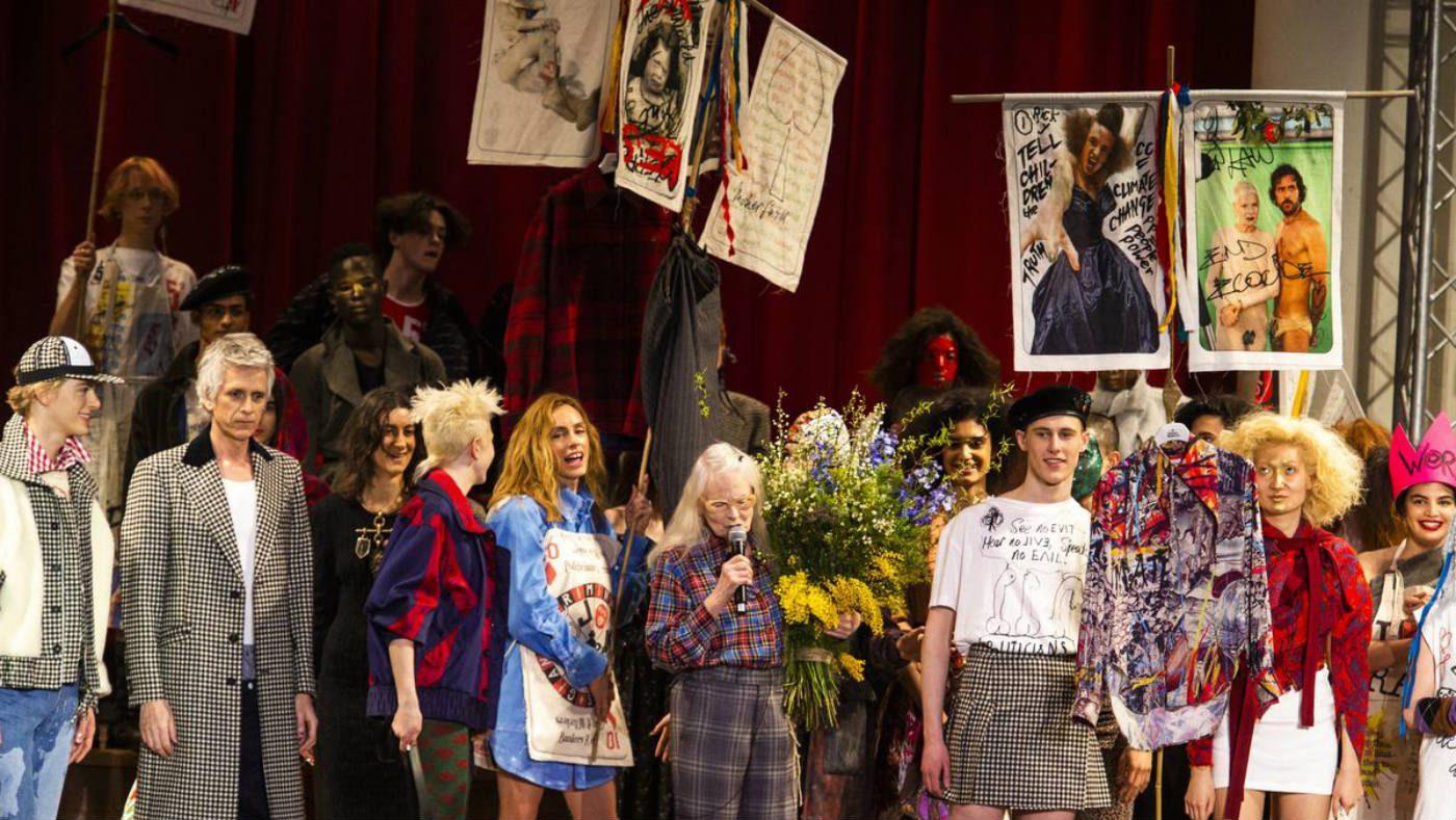 Brexit e Fashion, la parola di Vivienne Westwood. Vivienne Westwood fashion show