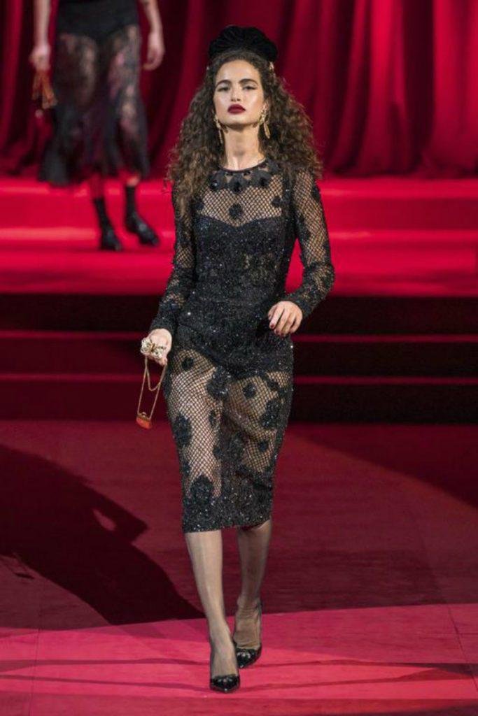 Dolce&Gabbana FW19, elogio intimo all'eleganza. Chiara Scelsi