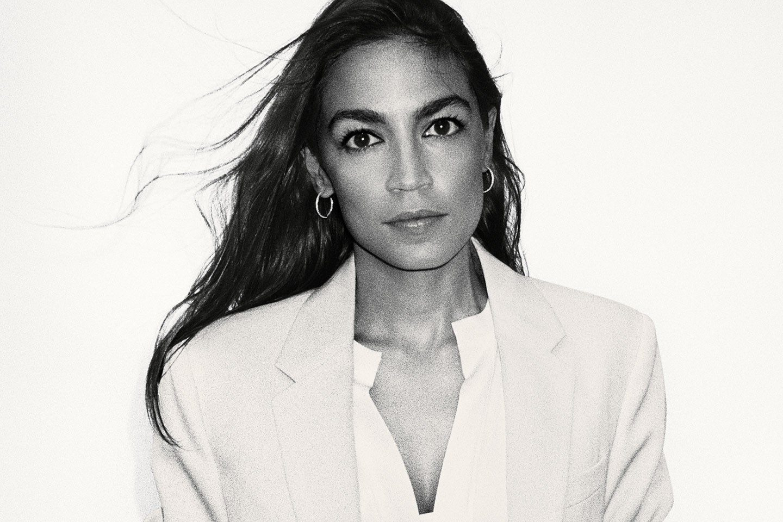 Alexandria Ocasio-Cortez beauty routine