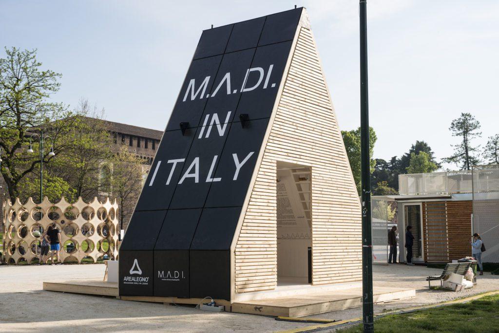 Mame Design: Fuorisalone 2018: Santambrogio Design District. INHABITS – Milano Design City: M.A.DI., by Renato Vidal
