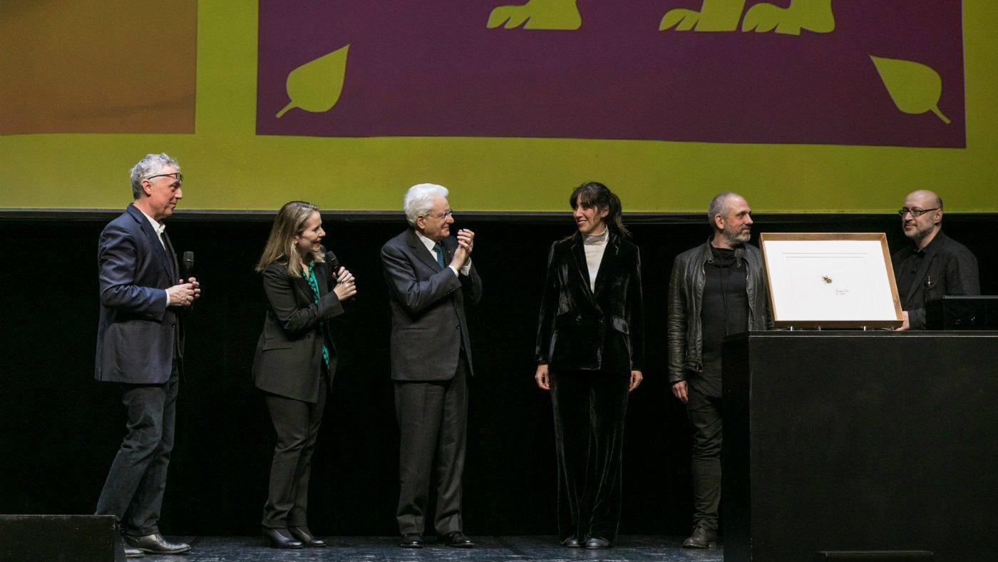 La premiazione alla XXII Triennale di Milano