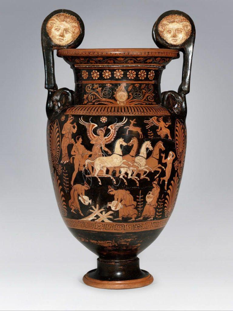 Un'opera della mostra sul mito alle Gallerie d'Italia a Vicenza