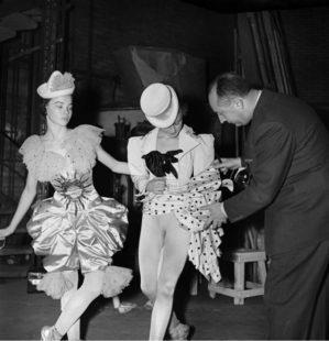 I costumi Dior per il Teatro dell'Opera di Roma. Christian Dior e Leslie Coran