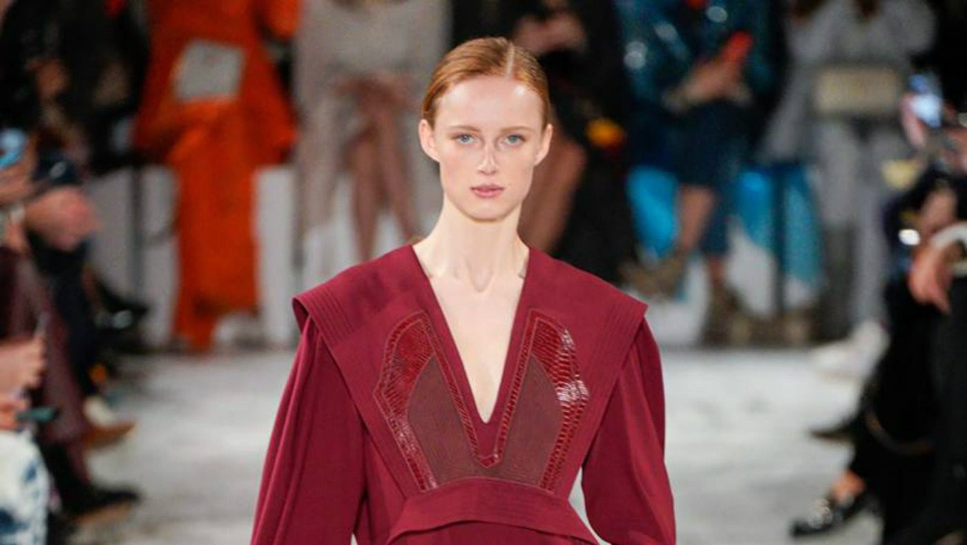 Stella McCartney FW19, il riciclo fashion. Stella MCCartney FW19 look