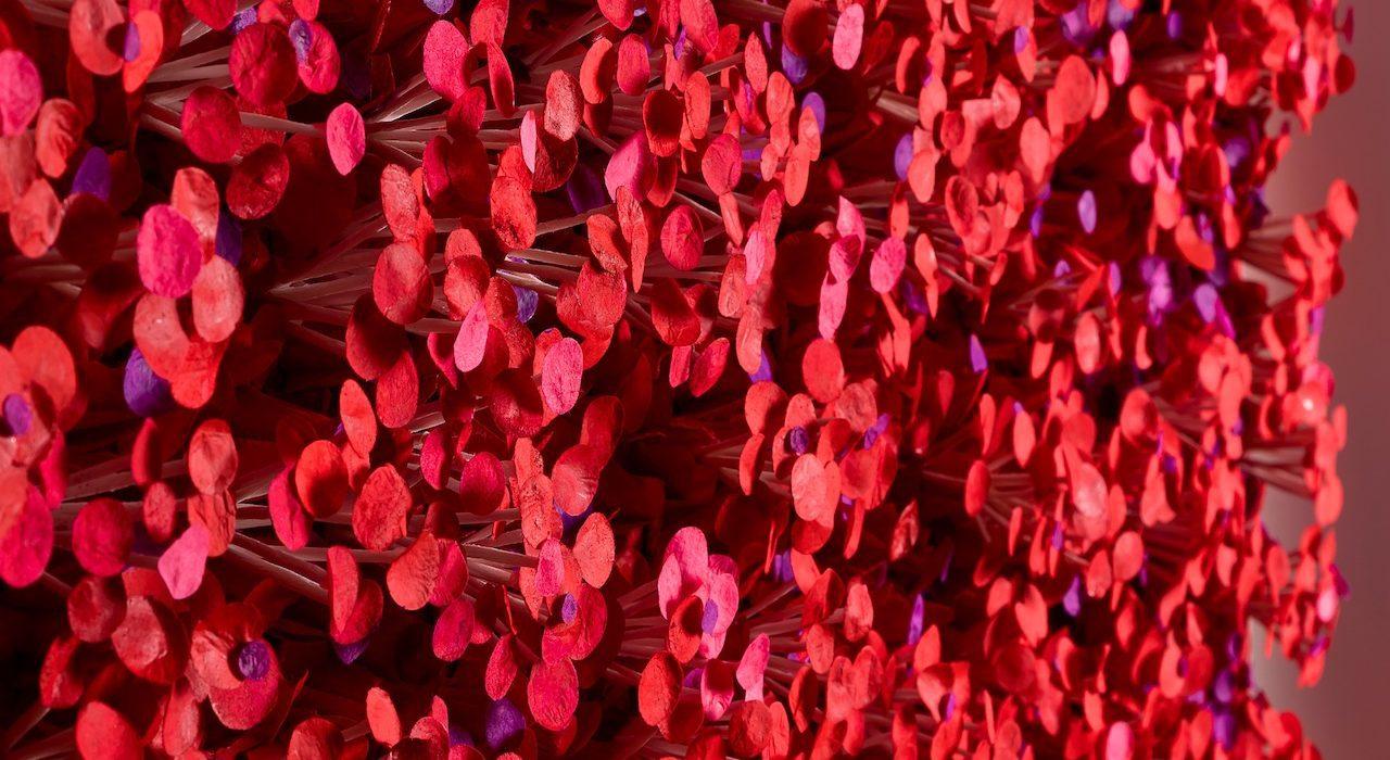 Mame arte IL MONDO VISIONARIO DI CHO SUNG-HEE Happy-Blossom-Detail3-2-1280x700
