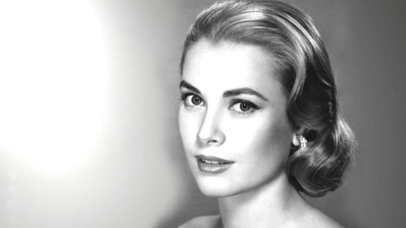 Ritratto in bianco e nero Grace Kelly