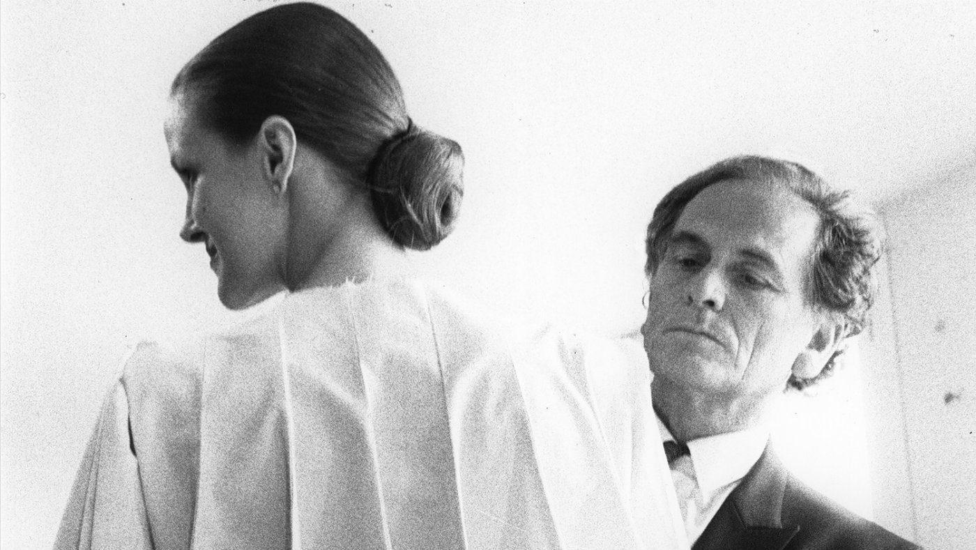 Pierre Cardin fitting 1968