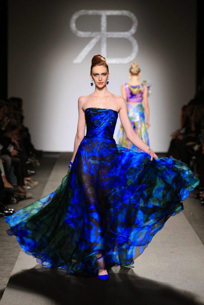 Abito blu Balestra