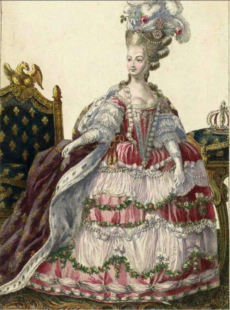 Marie Antoinette Robe à la française