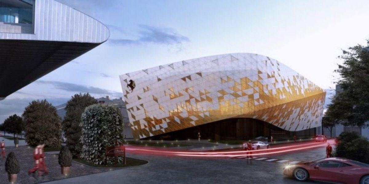 design: il nuovo centro stile della ferrari. nuovo centro stile ferrari