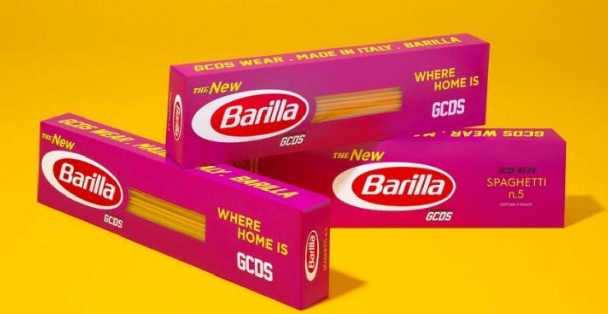 GCDS E BARILLA: IL NUOVO COOL PACKAGING