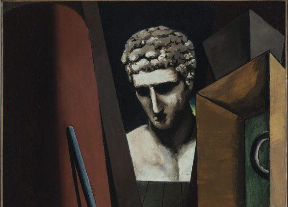 Mame arte LA METAFISICA DI GIORGIO DE CHIRICO A PALAZZO REALE Giorgio de Chirico - Malinconia ermetica