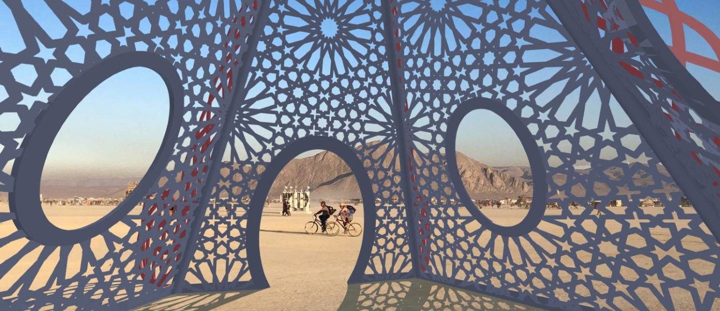 IL BURNING MAN 2019 CELEBRA LA DONNA
