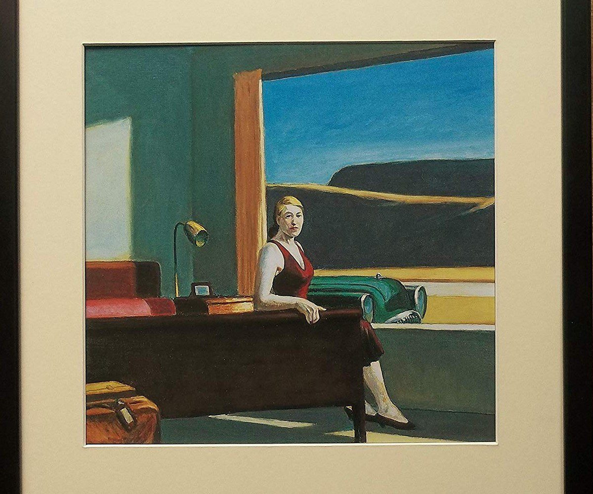 Hopper, Western Motel, 1957