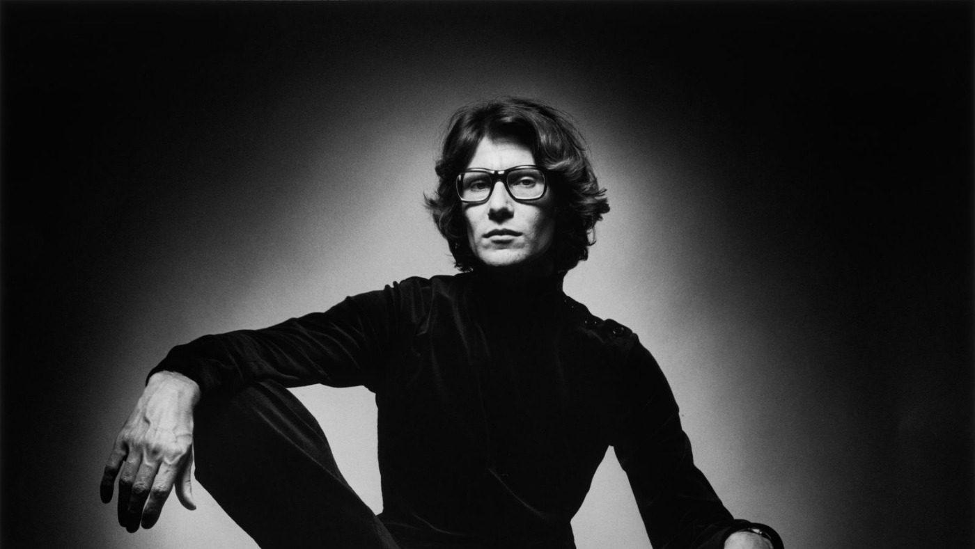 Compleanno Yves Saint Laurent. L'omaggio di MAM-e. Ritratto in bianco e nero dello stilista