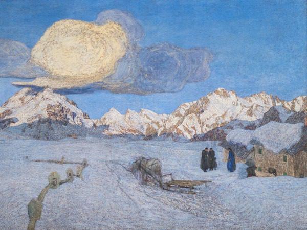 Giovanni Segantini, La morte in Trittico della Natura, 1896-1899, olio su tela