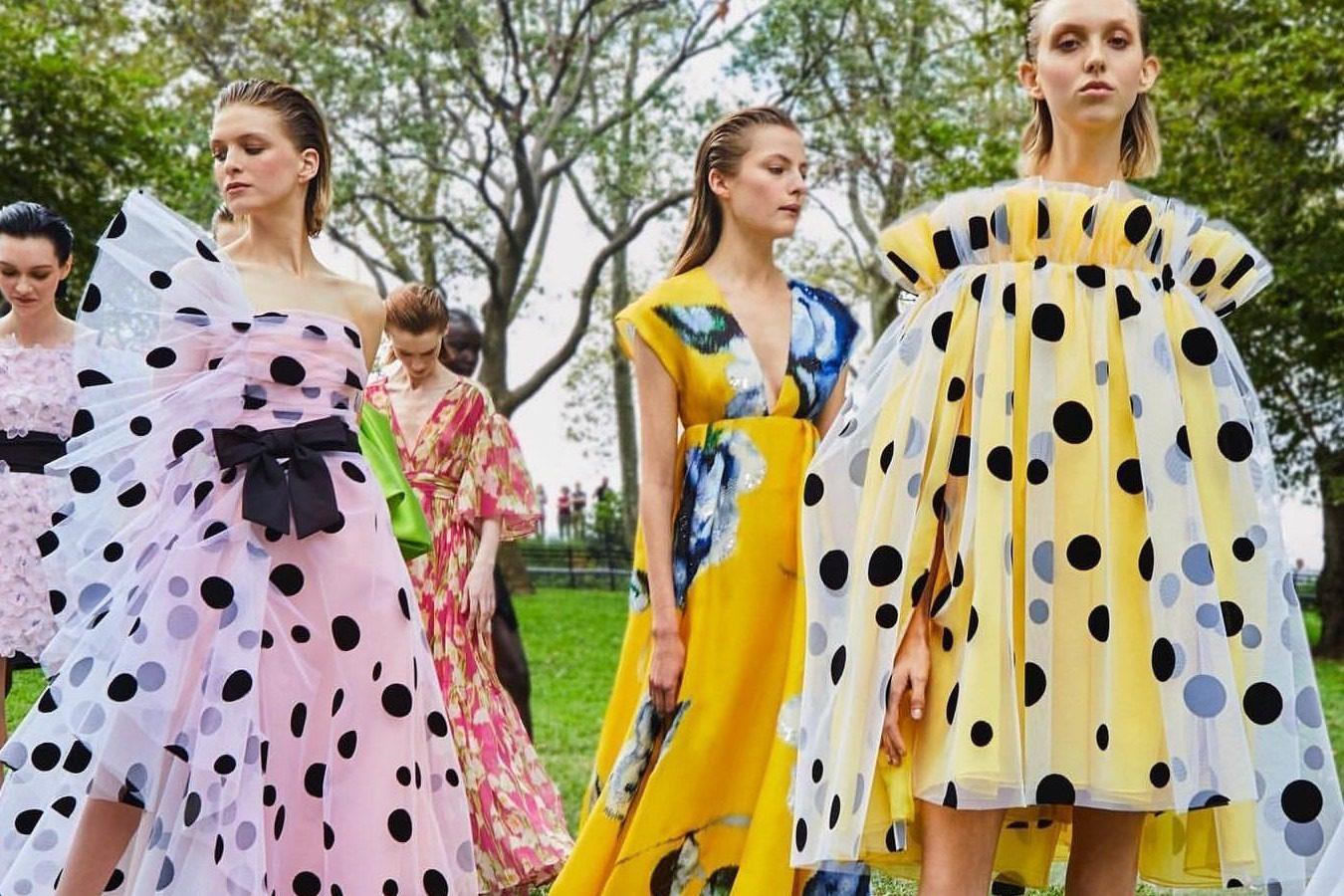 Moda: Carolina Herrera SS20 una composta joie de vivre