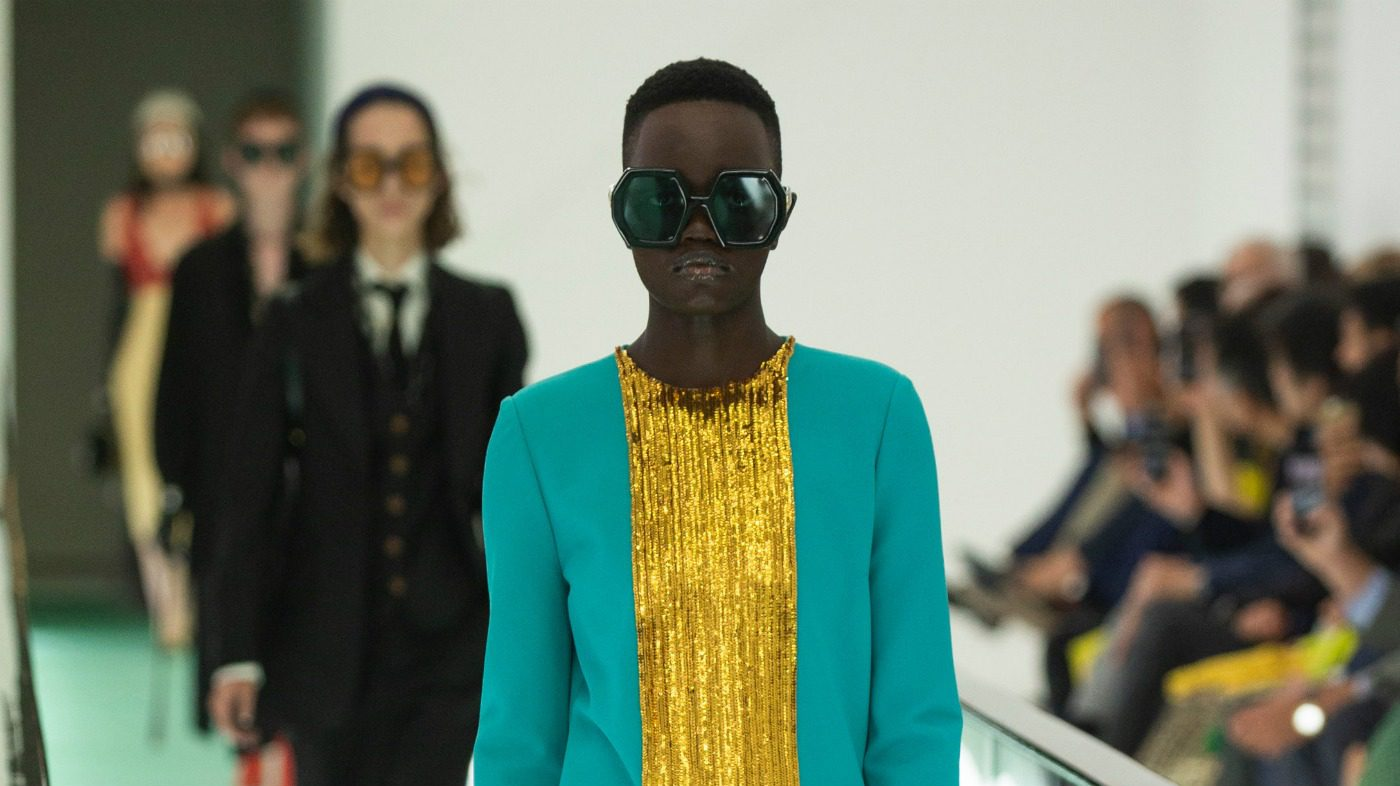 Look Gucci spring/summer 2020