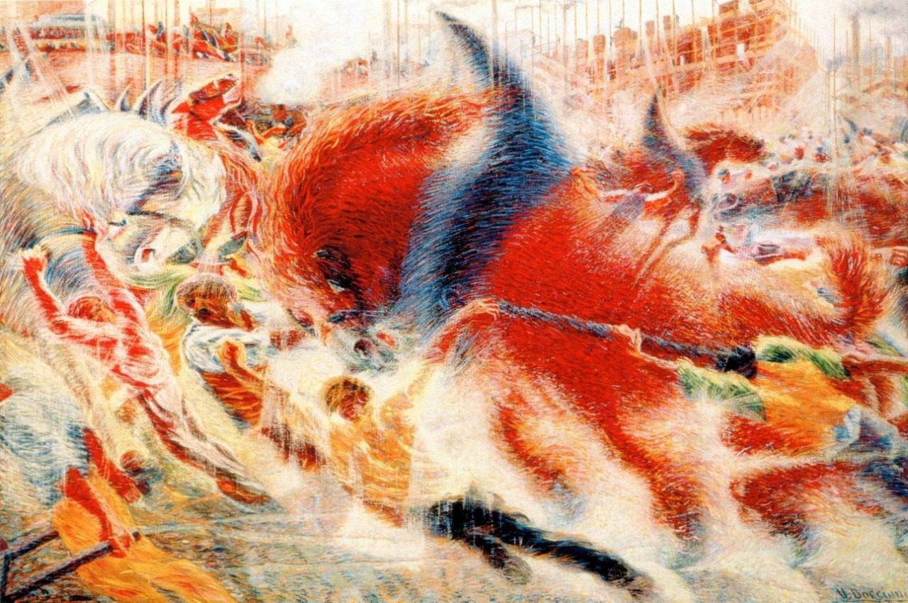 Arte: Umberto boccioni e l'arte in movimento