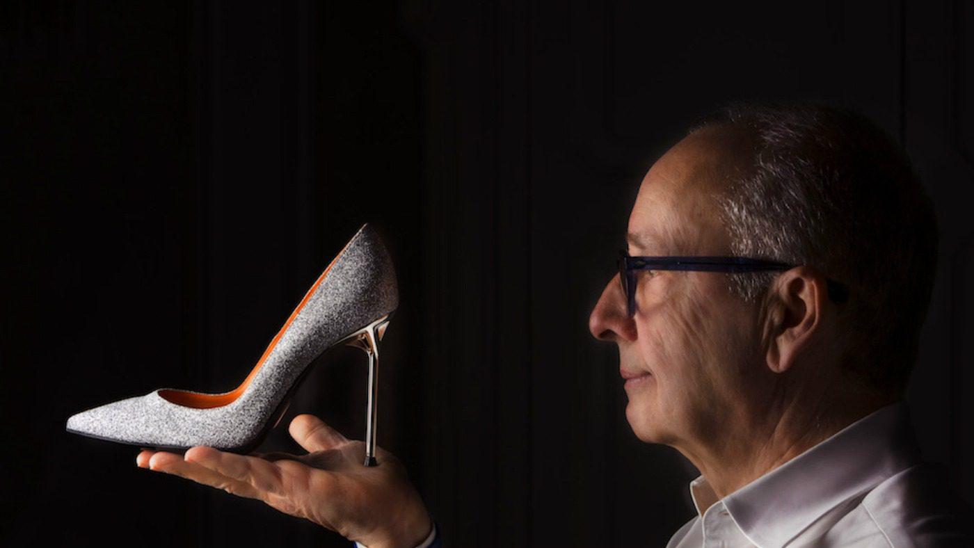 Walter De Silva Shoes. Ritratto del designer