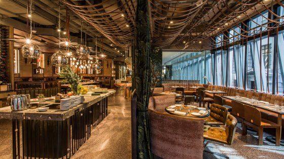 BARTOLINI INCORONATO CON 3 STELLE MICHELIN Una sala del ristorante SPIGA ad Hong Kong
