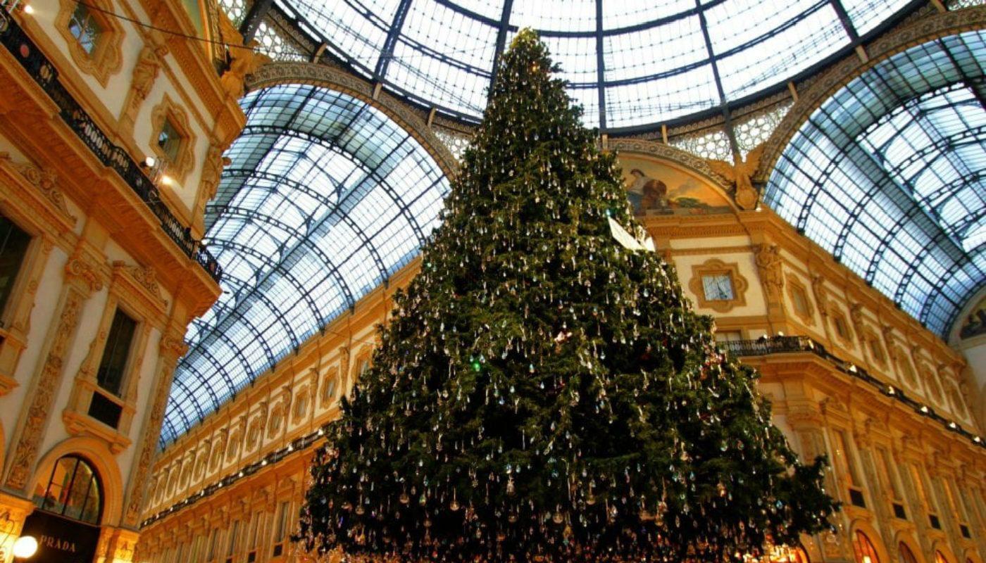 Albero di Natale Swarovski Milano 2020