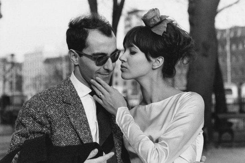 Anna Karina e Jean-Luc Godard