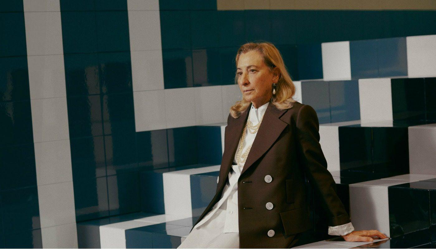 Miuccia Prada in mostra