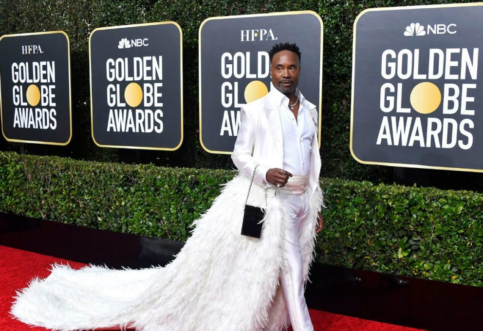 BILLY PORTER GOLDEN GLOBE 2020. IL CIGNO