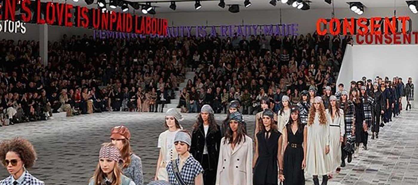 CHRISTIAN DIOR PARIS FASHION WEEK: IL TRIONFO DEL FEMMINISMO