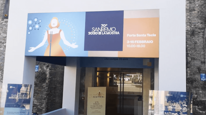 LA MOSTRA DEL FESTIVAL DI SAN REMO