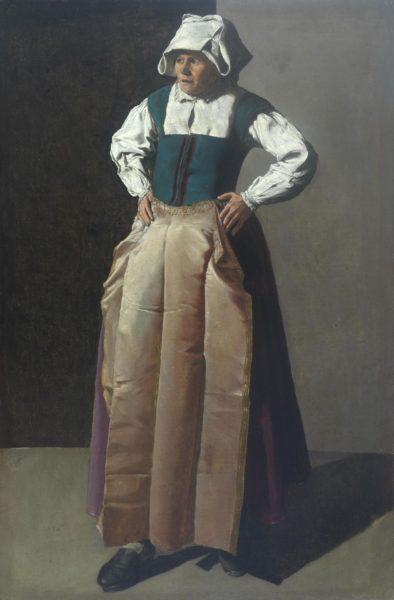 Georges de La Tour Donna anziana , 1618 - 1819 ca. O lio su tela, 91 , 4 x 60 cm Fine Arts Museums , San Francisco , Stati Un
