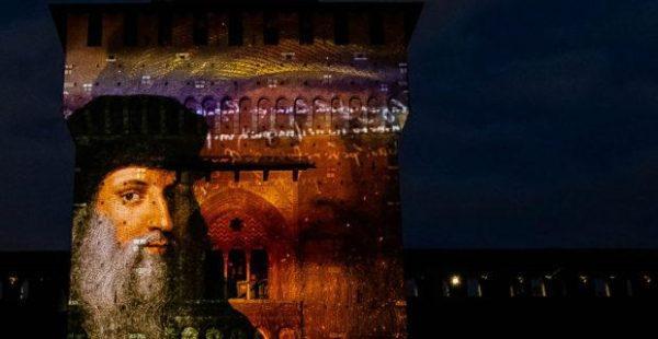 Nella Sala dei Ducali del Castello Sforzesco va in scena, fino al 19 aprile,L'atelier di Leonardo e il Salvator Mundi