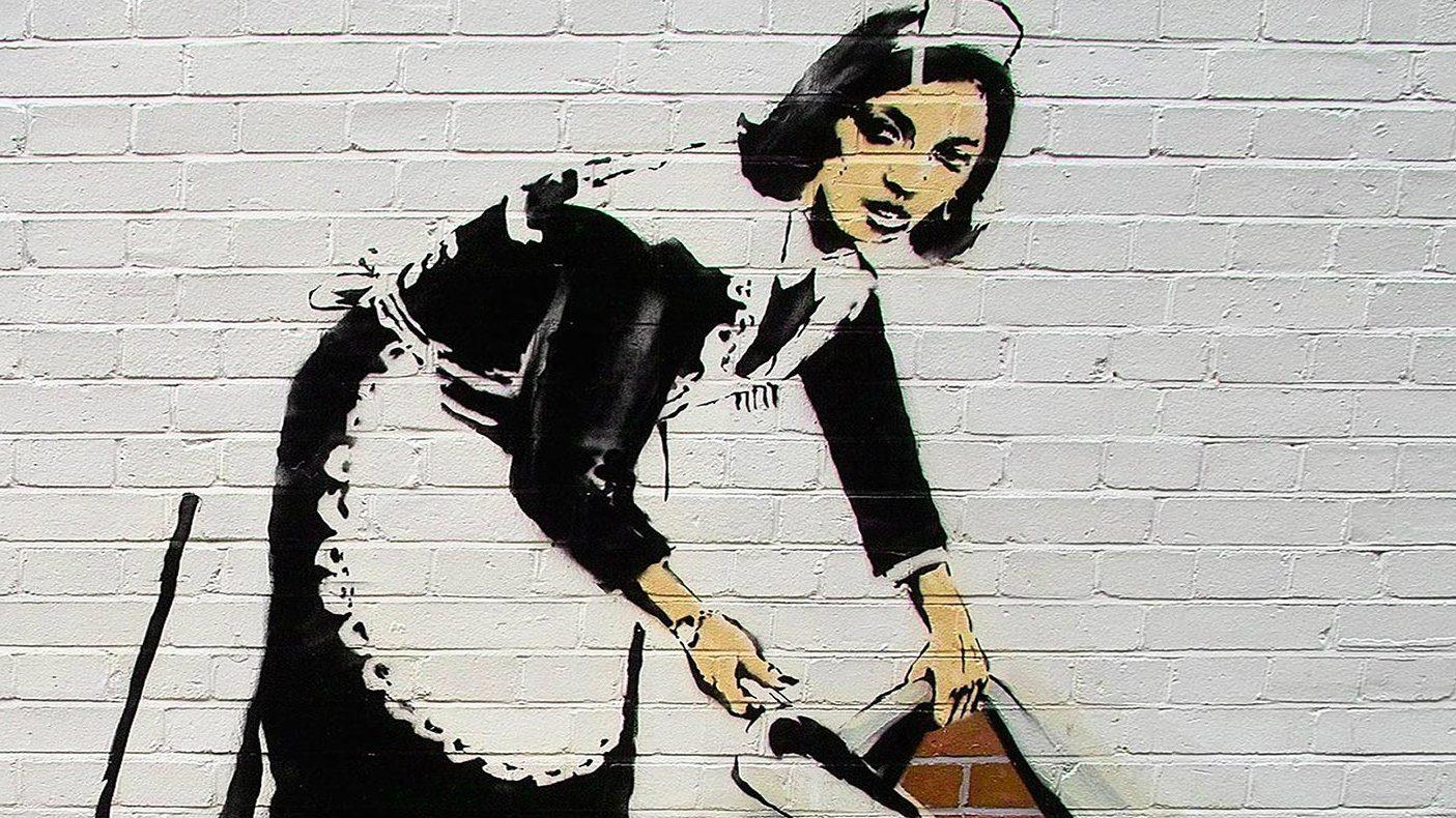 STREET ART: I MURALES PIÙ BELLI AL MONDO Banksy