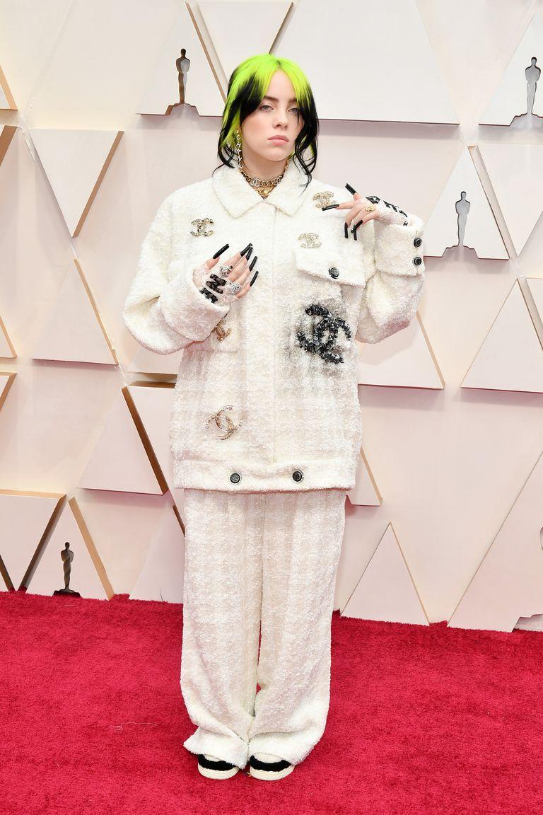Look Oscar 2020 Billie Eilish