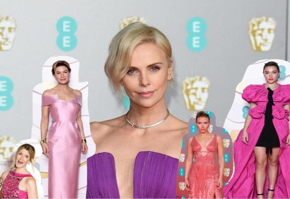 Look BAFTA 2020, tutte le sfumature del rosa
