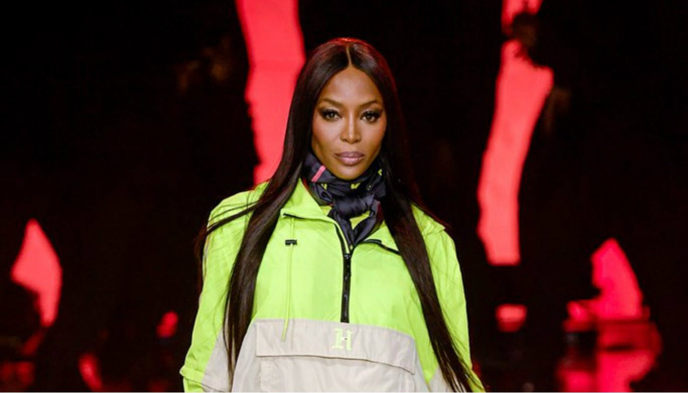 Naomi Campbell per TOMMYNOW SS20